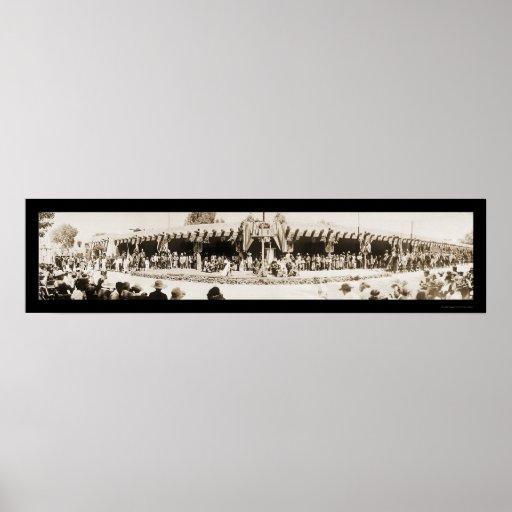 Foto 1921 del día de Santa Fe nanómetro Vargas Impresiones