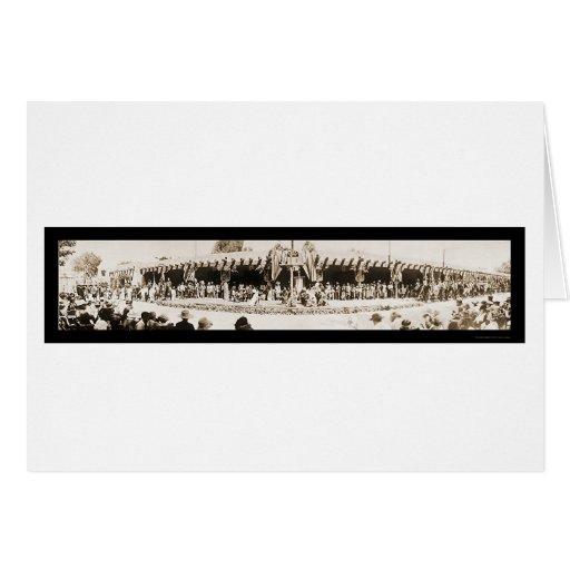 Foto 1921 del día de Santa Fe nanómetro Vargas Tarjeta De Felicitación