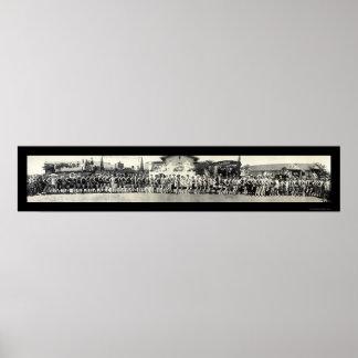 Foto 1925 de CA del desfile de Venecia Posters