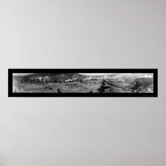 Foto 1935 de la ataguía de la presa de Coulee Posters