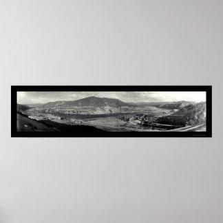 Foto 1936 de Washington de la presa de Coulee Poster