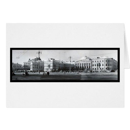 Foto 1955 de Rusia de la universidad de estado de Tarjeta De Felicitación
