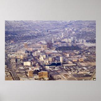 Foto 2007 de la antena de la tira de Las Vegas Poster