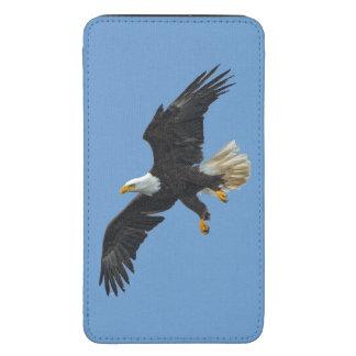 Foto 2 de la fauna de Eagle calvo que vuela Bolsillo Para Galaxy S5