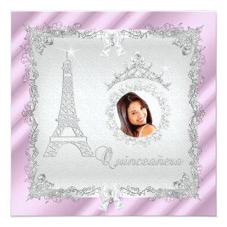 Foto 2 de princesa Quinceanera Magical Pink Silver