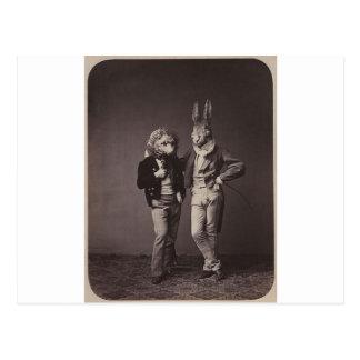 Foto 900s de los trajes de Halloween original del Tarjeta Postal