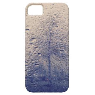 Foto abstracta del árbol de la ventana lluviosa iPhone 5 Case-Mate carcasas