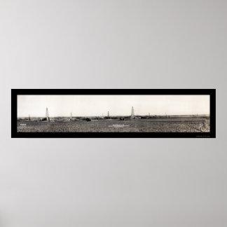 Foto ACEPTABLE 1917 del campo petrolífero del Hoy  Impresiones