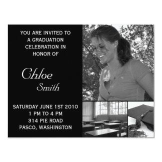 Foto adaptable barata de las invitaciones de la invitación 10,8 x 13,9 cm