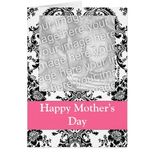 Foto adaptable blanco y negro tarjeta de felicitación
