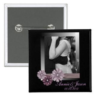 Foto adaptable elegante WeddingFavor Pins