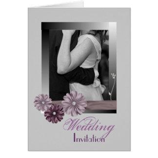 Foto adaptable elegante WeddingFavor Felicitacion