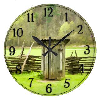 Foto ahumada del viaje de la dependencia de las reloj