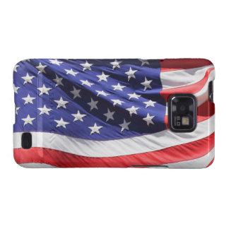 Foto americana de la bandera de los E.E.U.U. de la Samsung Galaxy S2 Fundas