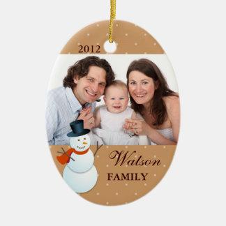 Foto amistosa del navidad del marrón del Polo Ornamentos De Reyes