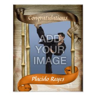 Foto anaranjada pesada del retrato uno de la corre fotografías