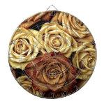 Foto antigua de los rosas tablero dardos