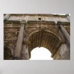 FOTO antigua de Roma: POSTER romano del foro