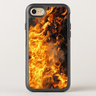 Foto ardiente del fuego funda OtterBox symmetry para iPhone 7
