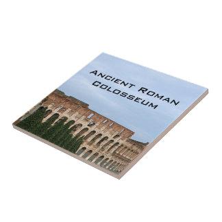 Foto arquitectónica antigua de Roma Italia Colosse Teja