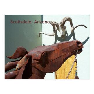 Foto AZ de la postal del distrito de los artes de