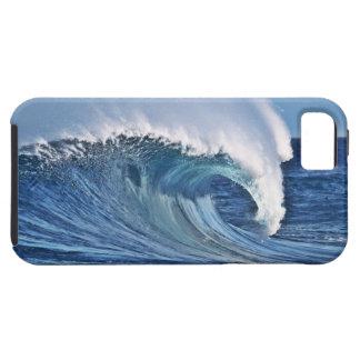 Foto azul de la ola oceánica del caso de Iphone 5 iPhone 5 Carcasa