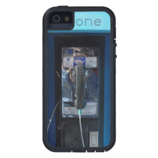 FOTO AZUL DEL TELÉFONO DE PAGO IMPRESA iPhone 5 Case-Mate FUNDAS