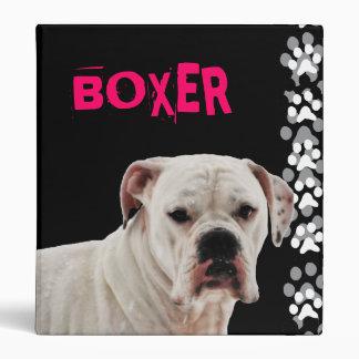 Foto blanca del boxeador