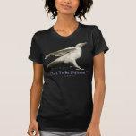 ¡Foto blanca rara del cuervo - ATREVIMIENTO A SER  Camiseta