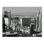 Foto blanco y negro de Las Vegas Postales