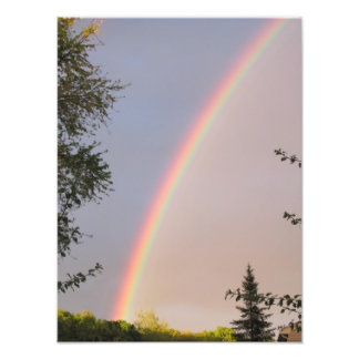 Foto brillante del del arco iris