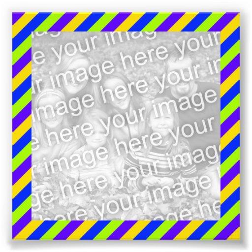 Foto brillante del marco de las rayas fotografías