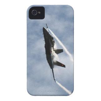 Foto canadiense de la acción de la caza a reacción carcasa para iPhone 4