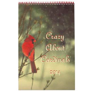 Foto cardinal calendarios