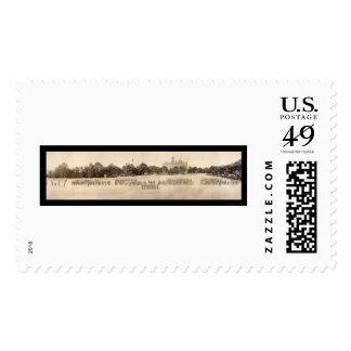 Foto castaña 1918 de la universidad sellos