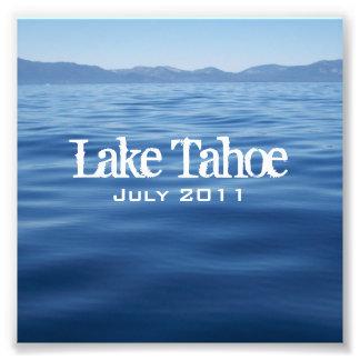 Foto CD del parte movible del lago Tahoe