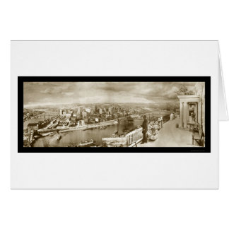 Foto centenaria 1909 de Pittsburgh Tarjeta De Felicitación