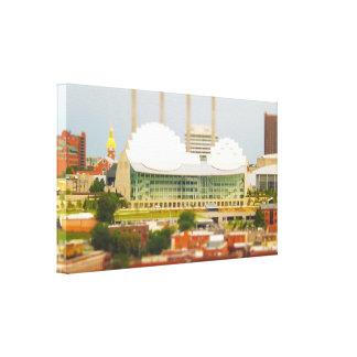 Foto céntrica de la miniatura del Inclinación-Camb Lona Envuelta Para Galerias