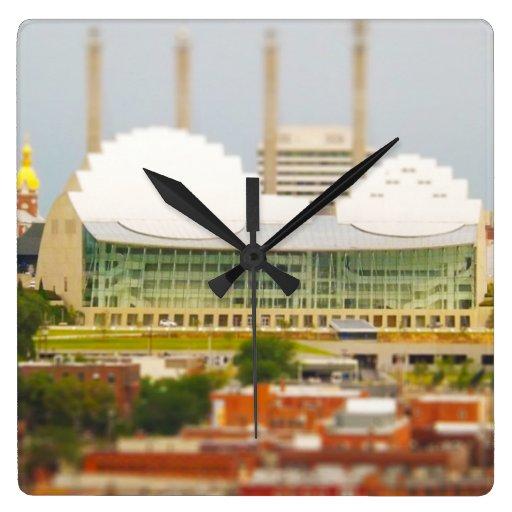 Foto céntrica de la miniatura del Inclinación-Camb Relojes De Pared