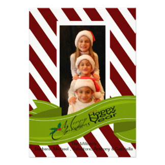 Foto ChristmasCard de la bandera del navidad del b