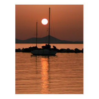 Foto Colette Guggenheim de Mykonos Grecia Postal