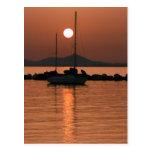 Foto Colette Guggenheim de Mykonos Grecia Tarjetas Postales