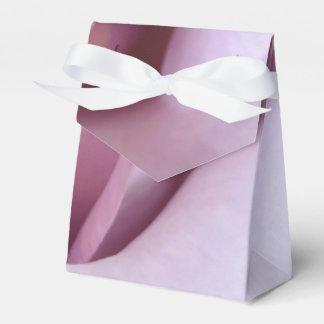 Foto color de rosa púrpura del boda cajas para regalos