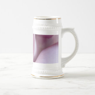 Foto color de rosa púrpura del boda jarra de cerveza