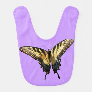 Foto colorida hermosa de la mariposa III de Baberos Para Bebé