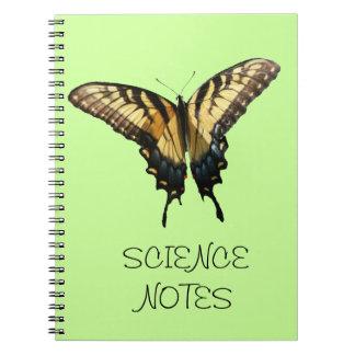 Foto colorida hermosa de la mariposa III de Libreta