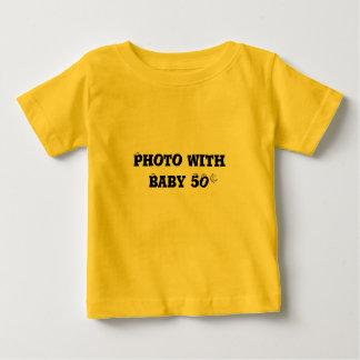 Foto con el bebé - camiseta infantil