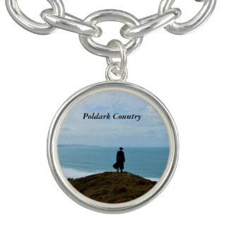 Foto Cornualles Inglaterra del país de Poldark Pulsera Con Dije