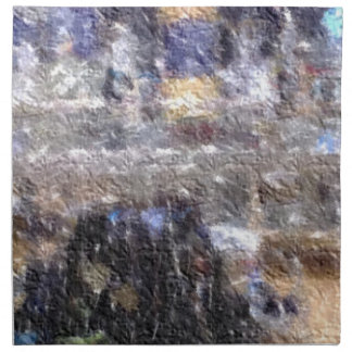 foto corregida extraña servilletas
