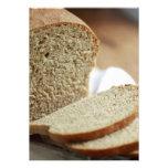Foto cortada del pan invitaciones personalizada